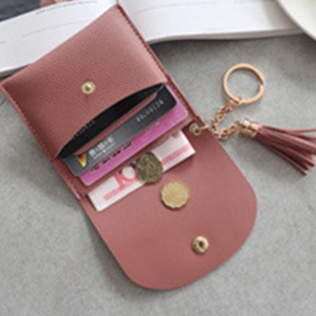 [현재분류명],180822BOSUK-2824 버클 수술 미니지갑 WD,카드지갑,여자지갑,예쁜지갑,지갑선물,작은지갑