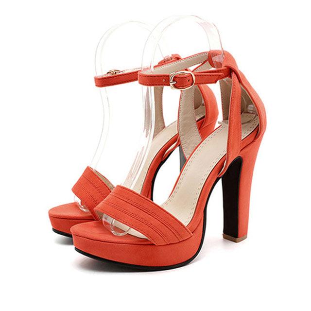 [현재분류명],180822BOSUK-3006 발목 스트랩 버클 하이힐 샌들 WD,여성신발,플랫슈즈,패션화,여성화,구두선물