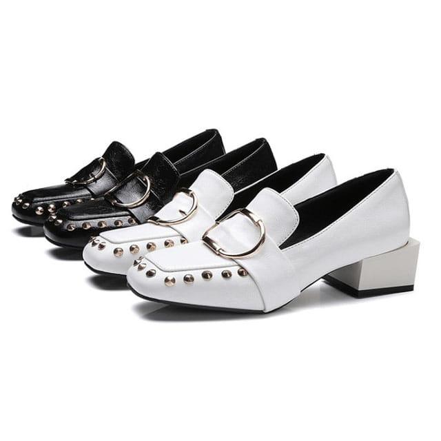 [현재분류명],180822BOSUK-3007 원형 찡 가죽 로퍼 WD,여성신발,플랫슈즈,패션화,여성화,구두선물