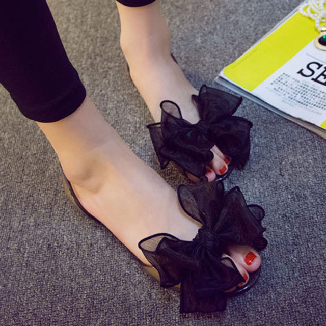 [현재분류명],180822BOSUK-3015 레이스 꽃나비 플랫 젤리슈즈 WD,여성샌들,젤리슈즈,비치샌들,여름신발,신발선물
