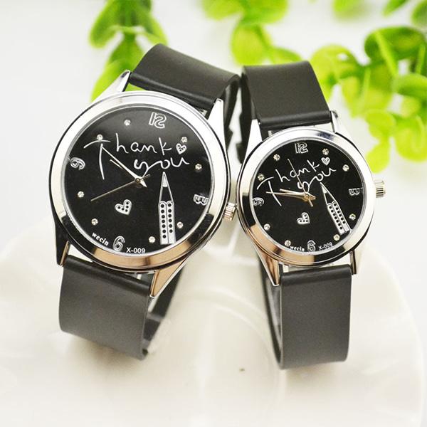 [현재분류명],Thank you 커플 시계WD,손목시계,커플시계,시계선물,가죽시계,예쁜시계