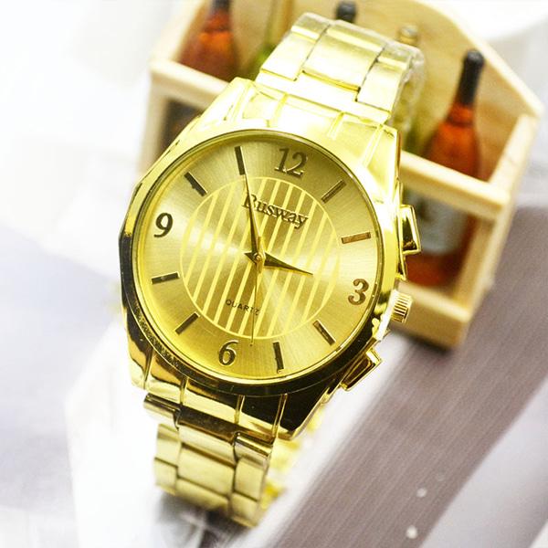 [현재분류명],원스트라이프 스틸시계-골드 WD,손목시계,메탈시계,남성시계,시계선물,예쁜시계