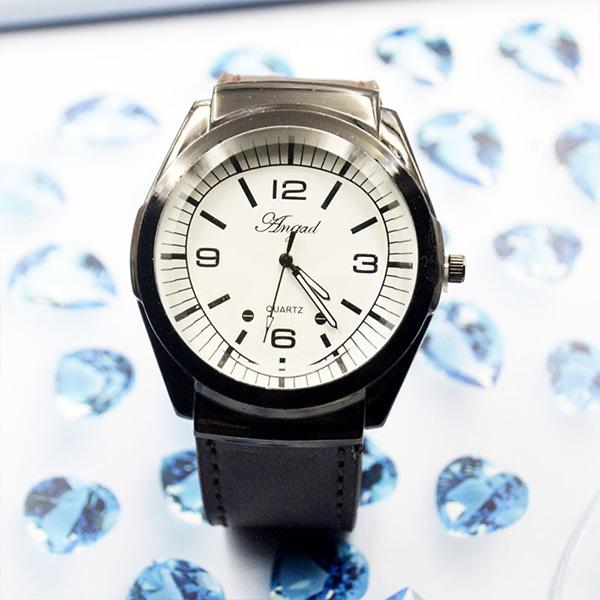 [현재분류명],블랙 본 손목시계-화이트 WD,손목시계,예쁜시계,시계선물,밴드시계,기념일선물
