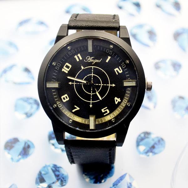 [현재분류명],오렌지 다이얼 패션시계-블랙 WD,손목시계,예쁜시계,시계선물,밴드시계,기념일선물