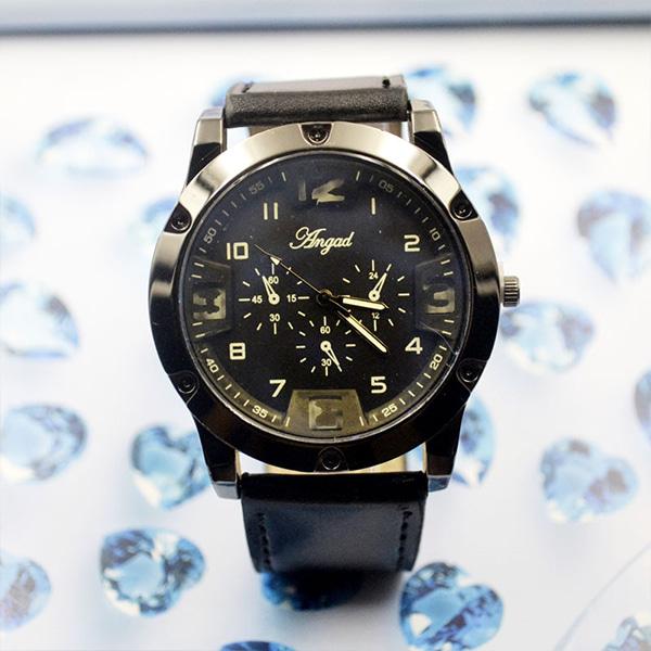 [현재분류명],트로지컬 패션밴드 남성시계-블랙 WD,손목시계,예쁜시계,시계선물,밴드시계,기념일선물