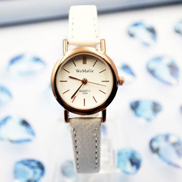 [현재분류명],미니멀 피스 여성패션시계WD,여성시계,손목시계,시계선물,예쁜시계,밴드시계