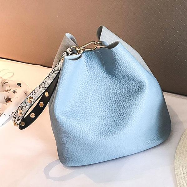 [현재분류명],180822BOSUK-2988 레터 조각 숄더백 WD,여성가방,숄더가방,패션가방,여성핸드백,가방선물