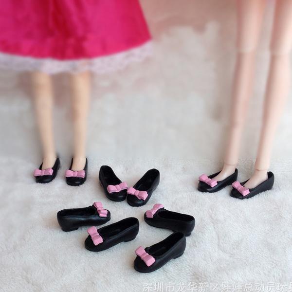 [현재분류명],인형단화 구두-핑크블랙WD,인형단화,인형구두,인형신발,인형소품,인형꾸미기