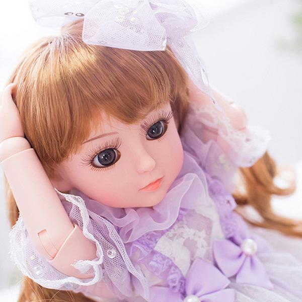[현재분류명],파스텔톤드레스 모모코인형-화이트WD,예쁜인형,공주인형,아기인형,인형선물,어린이선물